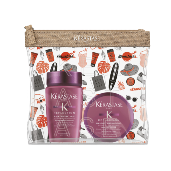 KIT VIAGEM 2019 BAIN REFLECTION RICHE + MASK CHROMATIQUE