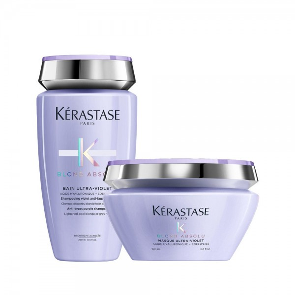 Kérastase Duo Bain Ultra-Violet e Masque Blond Absolut
