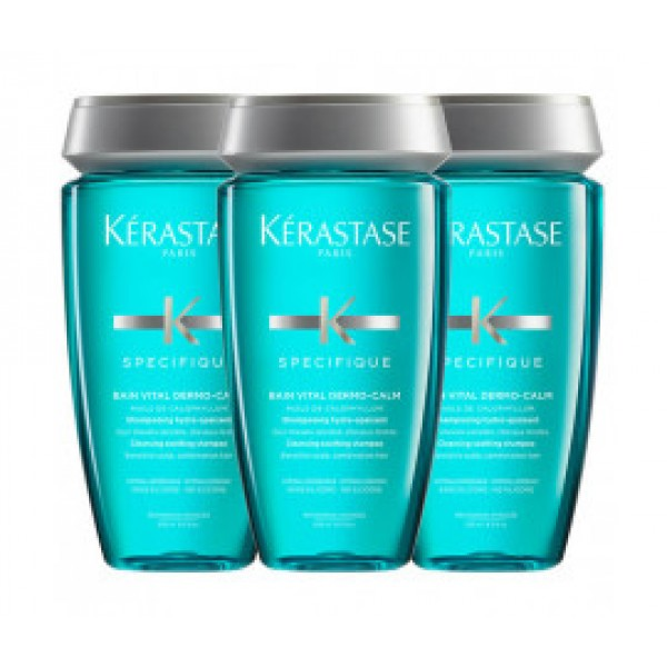 Kérastase Vital Dermo-Calm Shampoo Bain 3X 250ml