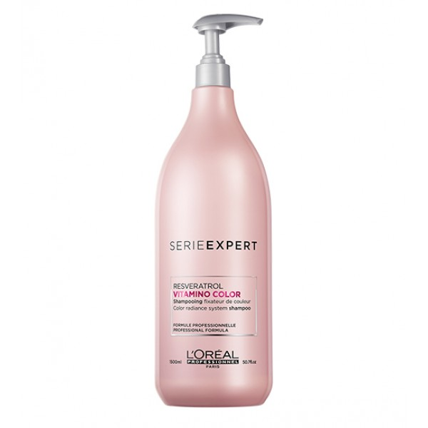 L'Oréal Vitamino Color Resveratrol Shampoo 1500ml