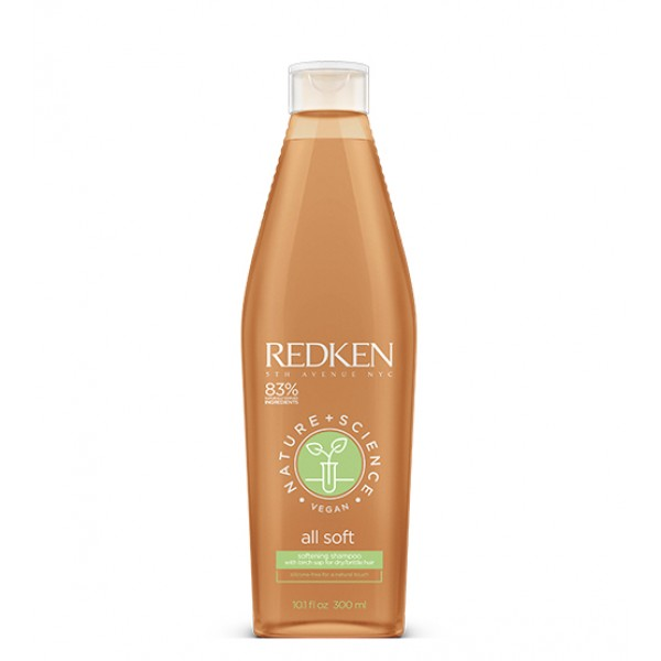 Redken All Soft Shampoo Nature + Science 300ml