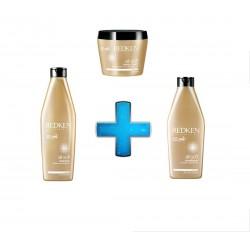 Kit All Soft (Shampoo, Máscara e Condicionador)